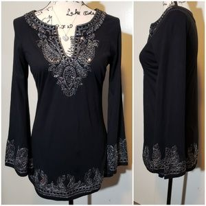 I-N-C Petite Top size S